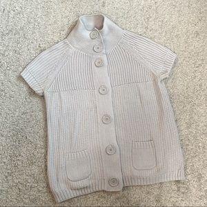 Esprit grey button down cardigan